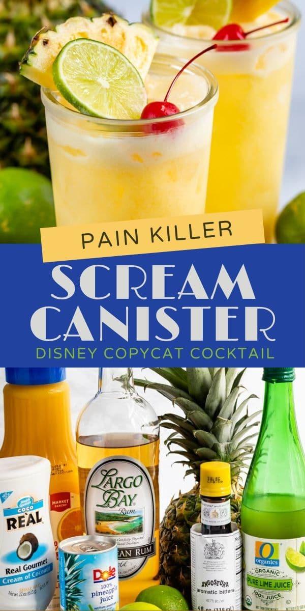 Disney copycat cocktail