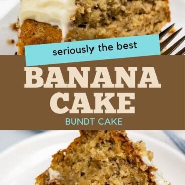 The best banana bundt cake