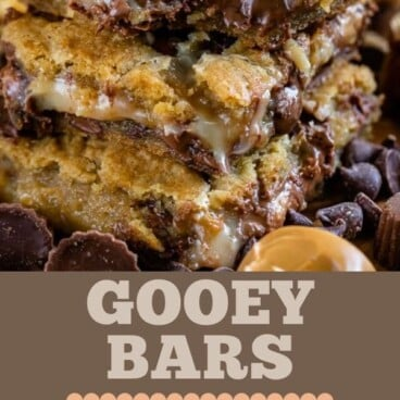 Peanut Butter Gooey Bars