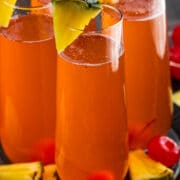 Rum punch mimosa recipe