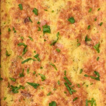 Egg casserole with bacon