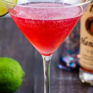 Classic cosmo martini