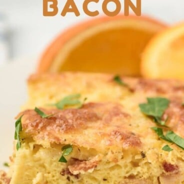 Perfect bacon egg casserole