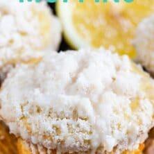 Easy lemon muffins