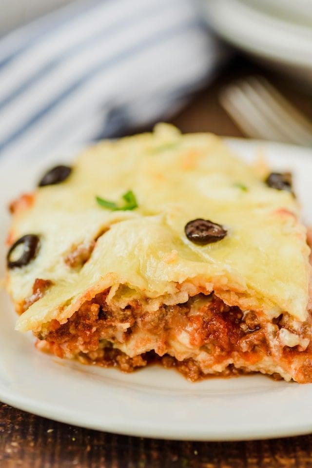 Easy southwestern lasagna