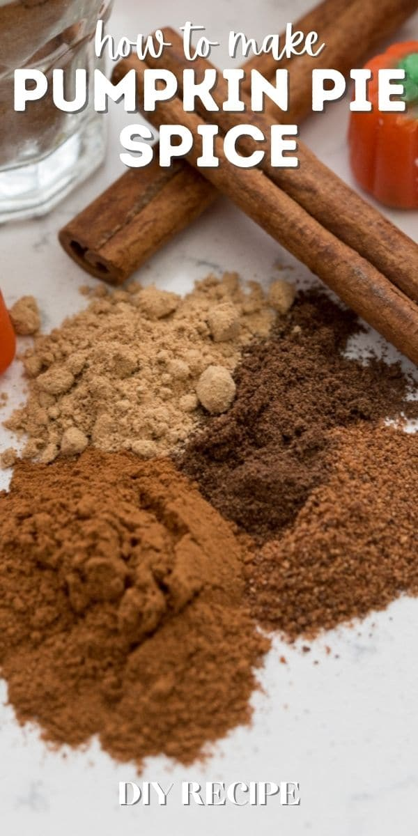 spices on counter