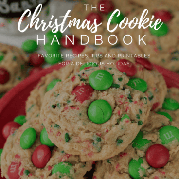 Christmas Cookie handbook cover image