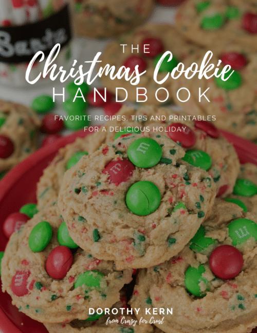 Christmas Cookie handbook cover image