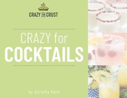 crazy for cocktails cover