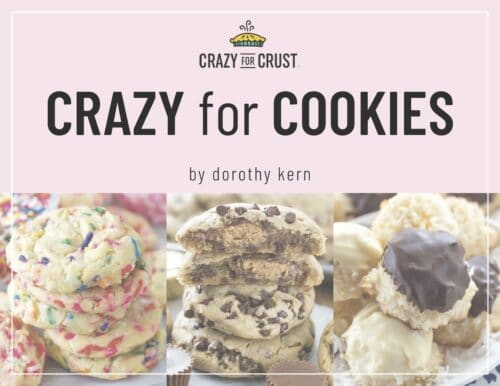 crazy for cookies ebook cover