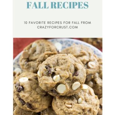 fall recipes ebook cover