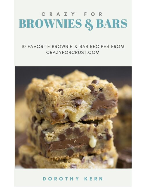 cover of brownies and bars