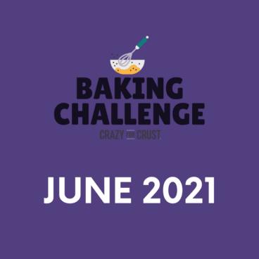 June baking challenge graphic