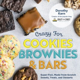 cover of crazy for cookies brownies and bars cookbook