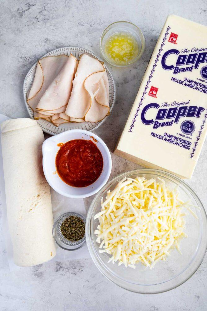 ingredients in Stromboli