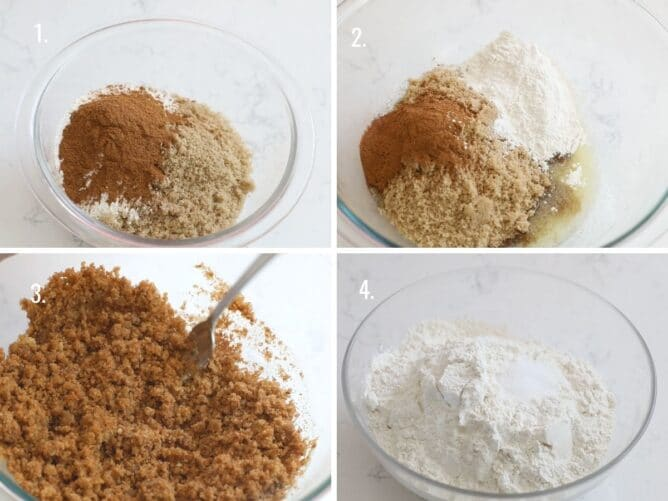 images showing how to make coffee cake